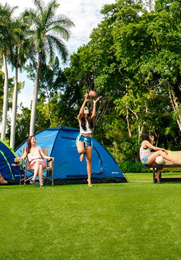 Haz camping en Las Estacas