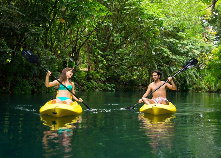 Renta de kayak en Las Estacas