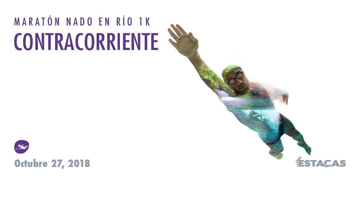 Compra en línea nado en río contracorriente en Las Estacas, 27 octubre