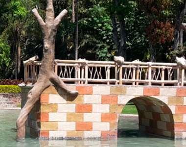 Puente Lago Infantil