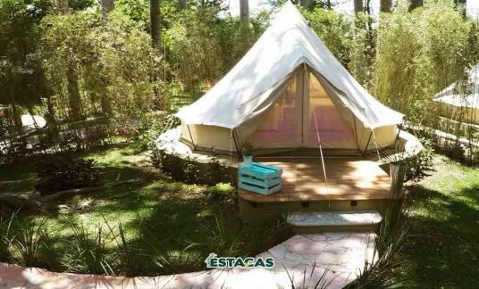 Camping en otoño