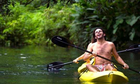 Kayak en Las Estacas