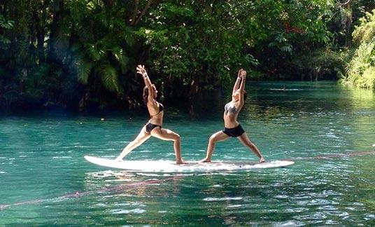 Relájate con yoga en Las Estacas