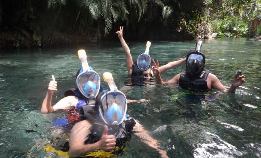 Snorkeling con amigos LE